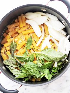 20 One-Pot Pasta Recipes That Will Change Dinner Forever | CREAMY LEMON | The secret to this quick supper: Adding vegetable broth to the cooking water – an instant flavor boost! Get the recipe HERE.