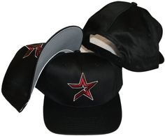 264668e3700 Buy Houston Astros Vintage Retro Red Star Plastic Snapback Adjustable Snap  Back Hat   Cap -