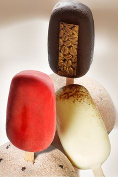 These ice cream bars created by Pastry Chef Pierre Mathieu at Mandarin Oriental, Paris are calling your name this summer!
