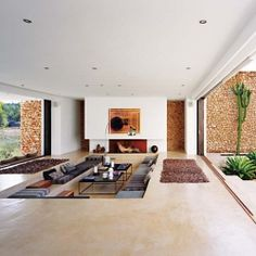 Ultra-fabulous minimalist dream home on the island of Ibiza. #dwellinggawker