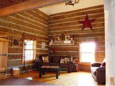Home Sweet Home  log cabin house