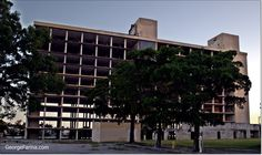 The Doubletree Hotel in Miami, Fl - Blue Lagoon, Waterford. At some point the hotel was and still may be turned into condos.  Nikon D5100 W/ Nikon 18-55