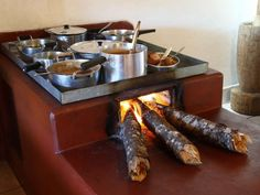 Ideas Backyard Fireplace Ideas Wood Burning For 2019 Outdoor Kitchen Design, Home Decor Kitchen, Rustic Kitchen, Outdoor Kocher, Brick Bbq, Dirty Kitchen, Outdoor Stove, Backyard Fireplace, Stove Fireplace
