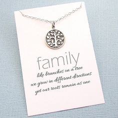 Tree of Life Necklace  Tree Necklace  Family Tree by SusiDjewelry