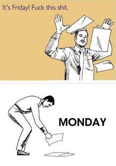 Lo que dejó el viernes, lo que trajo el lunes.