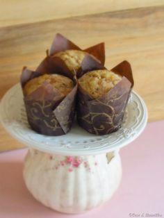 Coco e Baunilha: Muffins de banana e chocolate
