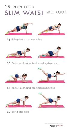slim waist workout