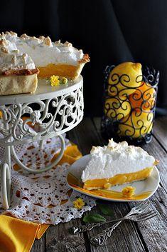A híres Amerikai Lemon pie... Mióta készültem megsütni, te jó ég...! És most végre sikerült. És még hozzá ... Tiramisu, Lemon, Dairy, Sweets, Cheese, Ethnic Recipes, Desserts, Food, Tailgate Desserts