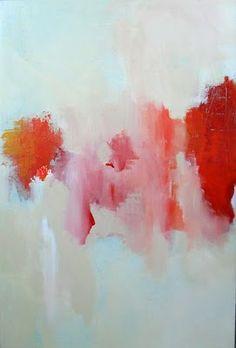 Tina Steele Lindsey #abstract #art Really like the organised disorganisation. linear streak.