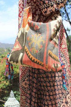 Magical Kilim Carpet Bag
