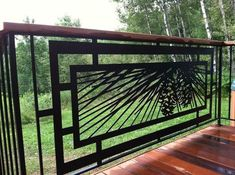 outstanding metal work for your deck, decks, fences, MAKE YOUR DECK LIKE NO OTHER