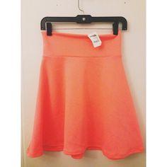 Charlotte Russe Dresses & Skirts - High-waisted skater skirt
