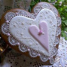 Meraviglioso cuore di biscotto....