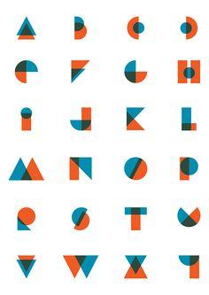 Duplex Font Design on Behance