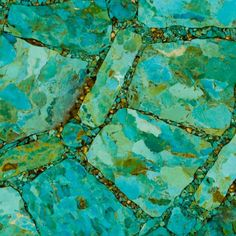 We are in love with the detail of this Mosaic Turquoise tile slab! It would be amazing as a countertop! What do you think? #kingmanturquoise #turquoise #tile #kitchendesign #designdetails #interiordesign #homedesign #tileaddiction by gemstonetilellc