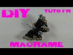 Macrame Necklace 'Happy Planet' Tutorial - YouTube
