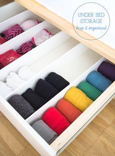 1000+ ideas about Underwear Organization on Pinterest ...