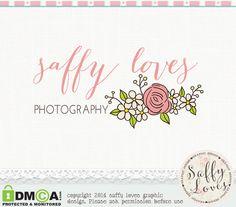 Daisy+Rose+Flower+Premade+Custom+Business+by+saffyloves+on+Etsy,+£9.00