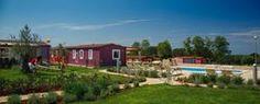 Neben dem Hauptpool gibt es bei dem Mobilheim Superior Home Pool einen extra Privatpool pro 6 Einheiten!