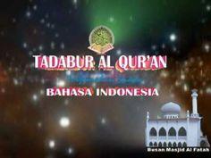 ▶ Taddabur Al Qur'an - Surah Al Qomar - Terjemahan Bahasa Indonesia 2 of 2 - YouTube