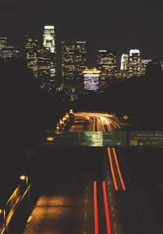 Los Angeles {Gif by Infamousgod} Make Money On Internet, How To Make Money, Nature Gif, Le Jolie, California Dreamin', Urban Life, Jolie Photo, Night Photography, City Lights
