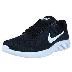 meet 89259 ed163 Nike Lunarglide 8 Black White Anthracite 843725 001 Mens Running Shoes      Check this awesome product by going to the link at the image.