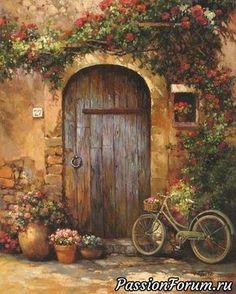 Beautiful doorway!