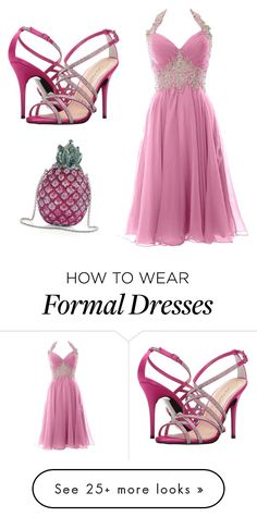 """""""Untitled #2651"""" by ania18018970 on Polyvore featuring Caparros and Judith Leiber"""