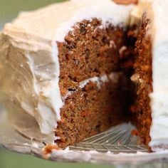 This is a rich recipe.....Carrot Cake
