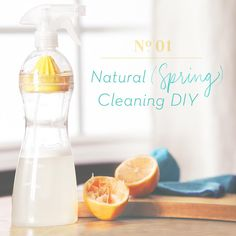 Natural Orange-Infused Glass Cleaner