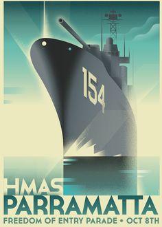 Poster for HMAS event