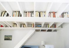 rafter-bookcase
