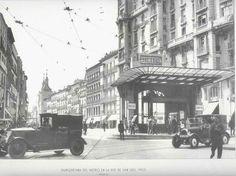 Marquesina del Metro en la Red de San Luis.1925- MadridMetropolis - Detalles de Madrid: julio 2013