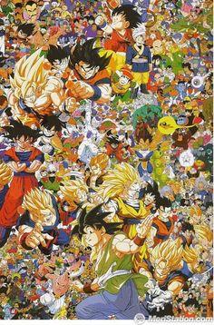 "Dragon Ball + ""Z"" + ""GT"""