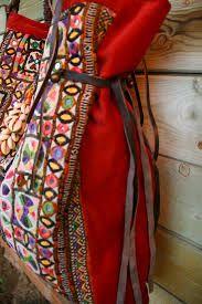 Resultado de imagen para Bolso étnico hecho de bolsillos