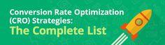 Conversion Rate Optimization Techniques: The Complete List