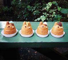 Totoro cream puff - Shiro-Hige's Cream Puff Factory, Setagaya Traveller Reviews - TripAdvisor