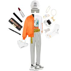 Street style #1 by virgonco on Polyvore featuring polyvore, fashion, style, Vetements, TIBI, Gosha Rubchinskiy, Balenciaga, GUESS, Sydney Evan and Y-3