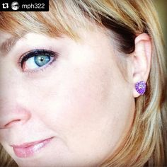 """""""Customer #Repost @mph322 with @repostapp. ・・・ @countrymermaids #countrymermaids love my #earrings thanks!!! #indie"""""""