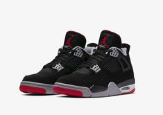 buy popular 9425c f5ce5 Brand New Nike AIR JORDAN IV 4 BRED style 308497-060 2019  shoes