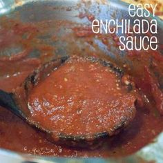 Easy Enchilada Sauce. This is my go-to enchilada sauce for all my various enchilada dishes.