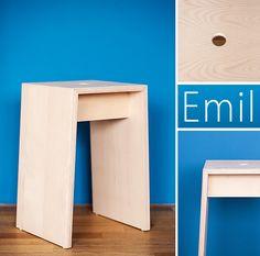 Emil - der Hocker, Details.
