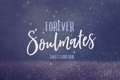 Forever Soulmates Font Duo by Nicky Laatz on Forever Soulmates is based on the currently popular hand brush lettering found on social media designs, in retail fashion , and hand written quotes. Lightroom, Handwritten Quotes, Script Fonts, Cursive Calligraphy, Letter Find, Logo Design, Design Art, Design Elements, Logos