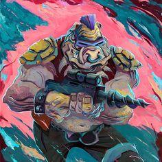 Rich Pellegrino Art and Illustration Ninja Turtles Art, Teenage Mutant Ninja Turtles, Martial, Tmnt Characters, Bebop And Rocksteady, Portraits, Geek Art, Star Wars Art, Cartoon Styles