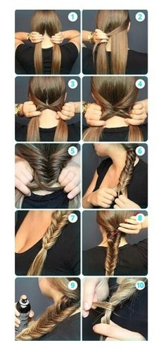 I love this how to guide on how to do a fish tail bairaid! Maybe I can start…