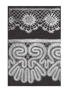 Учебная коллекция по плетению кружев   34 фотографии