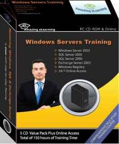 Microsoft Windows Server, SQL Server and Exchange Server Training Courses (5-CD Value Pack) - Find Me The Cheapest Price	: $49.95