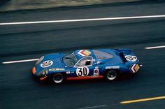 A220  1734 Henri Grandsire / Jean-Claude Andruet Le Mans, 1969