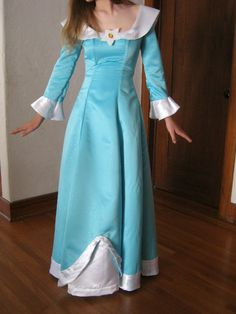 For Maggie- tutorial for a rosalina dress