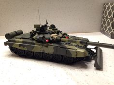 Meng 1/35 T90 Main battle tank with anti-missile system and plow